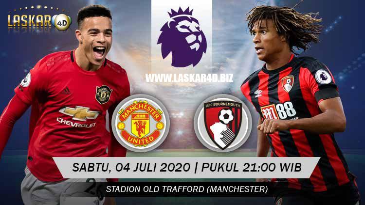Prediksi Bola Manchester United vs Bournemouth Sabtu, 04 Juli 2020