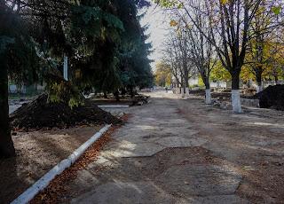 Васильковка. Ул. Спортивная. Реконструкция