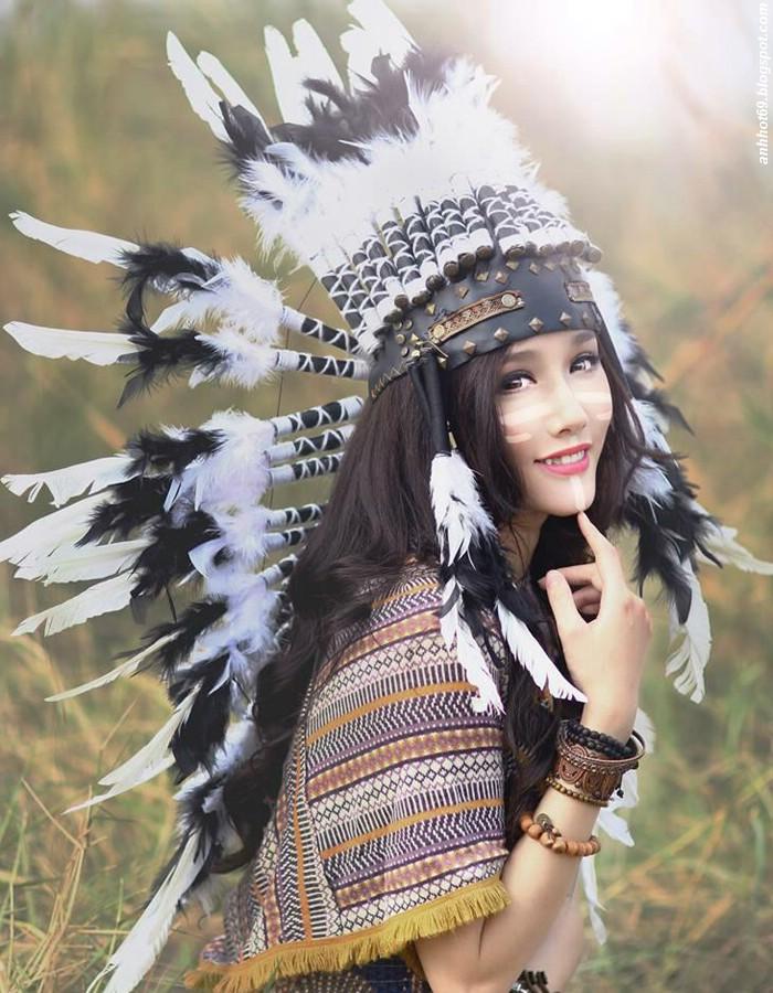 [Sugar Girl-1507220030] - Hot girl Trương Kim Ngân hóa thổ dân xinh đẹp