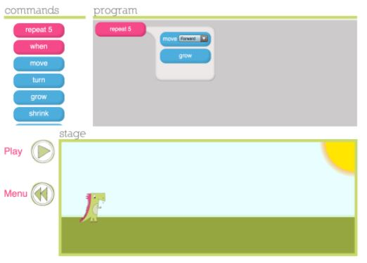 Learn Code by Playing Games - Daisy the Dinosaur