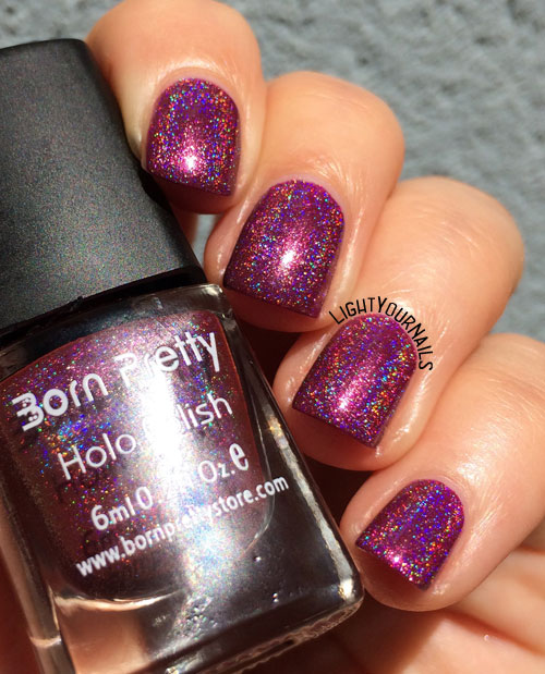 BornPretty Holo Polish 24#