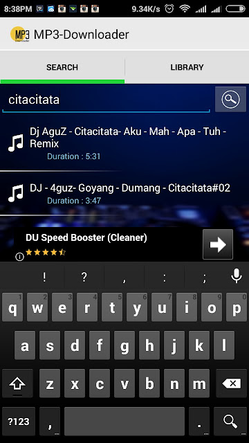Aplikasi MP3 Downloader