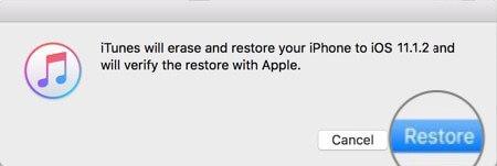 كيفية الرجوع أو التحديث إلى نظام التشغيل iOS 11.1.2