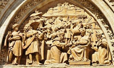 Resultado de imagen de puerta de los reyes magos catedral de sevilla
