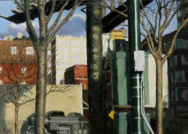 Городской пейзаж. Patty Neal 2