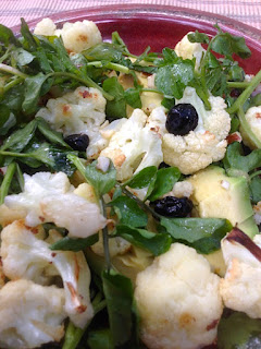 Cauliflower Blueberry and Avocado Salad by Future Relics Gallery