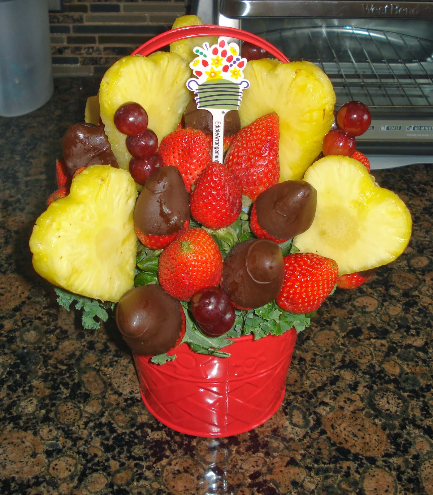 How To Make Edible Arrangements For Valentines Day | www ...