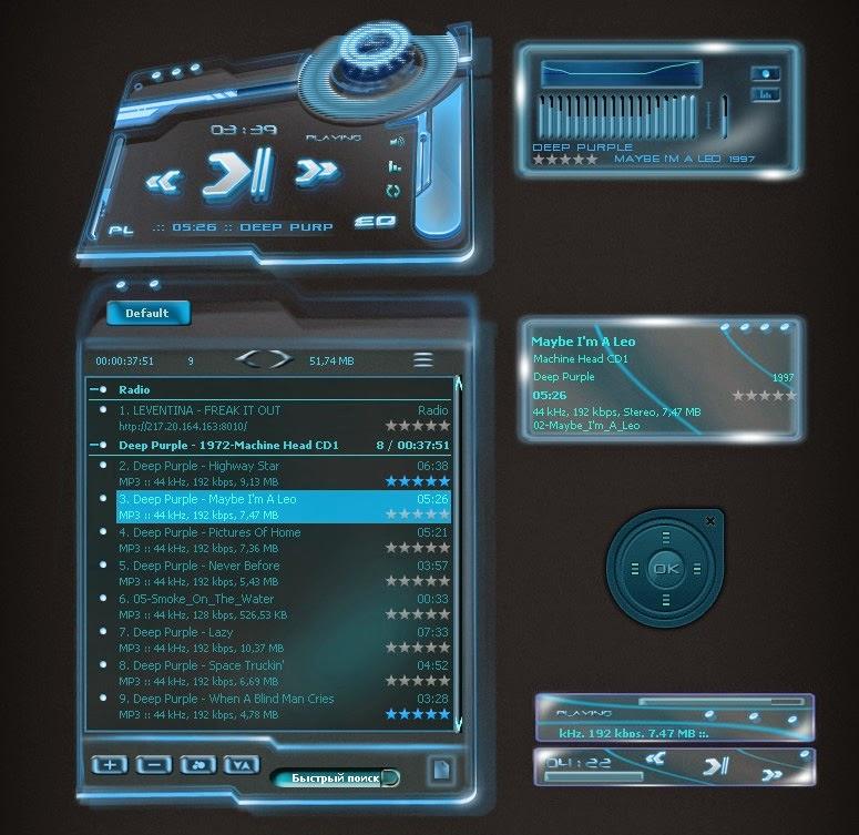 Download pemutar musik untuk android apk gw share kok.