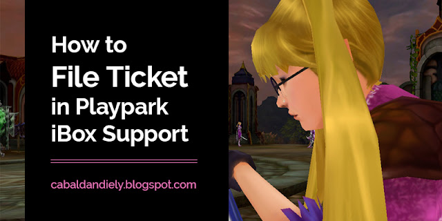 How to File Ticket in Playpark iBox Support