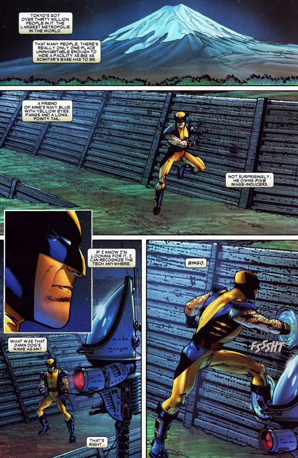 Read online Wolverine (2003) comic -  Issue #60 - 17