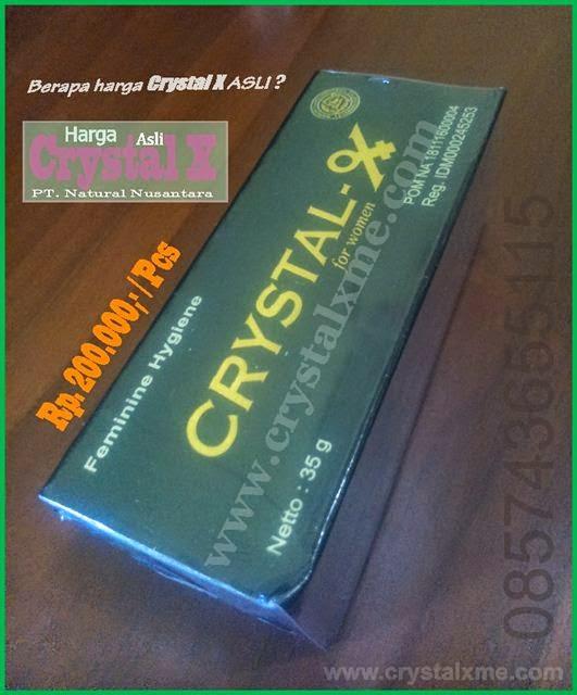 harga crystal x asli pt natural nusantara