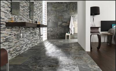 Inspirasi  Lantai Granit  Rumah Minimalis 6