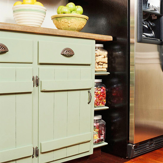 Cost Of Kitchen Cabinet Doors: New Home Interior Design: Low-Cost Cabinet Makeovers