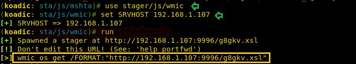 Bypass Application Whitelisting using wmic exe (Multiple