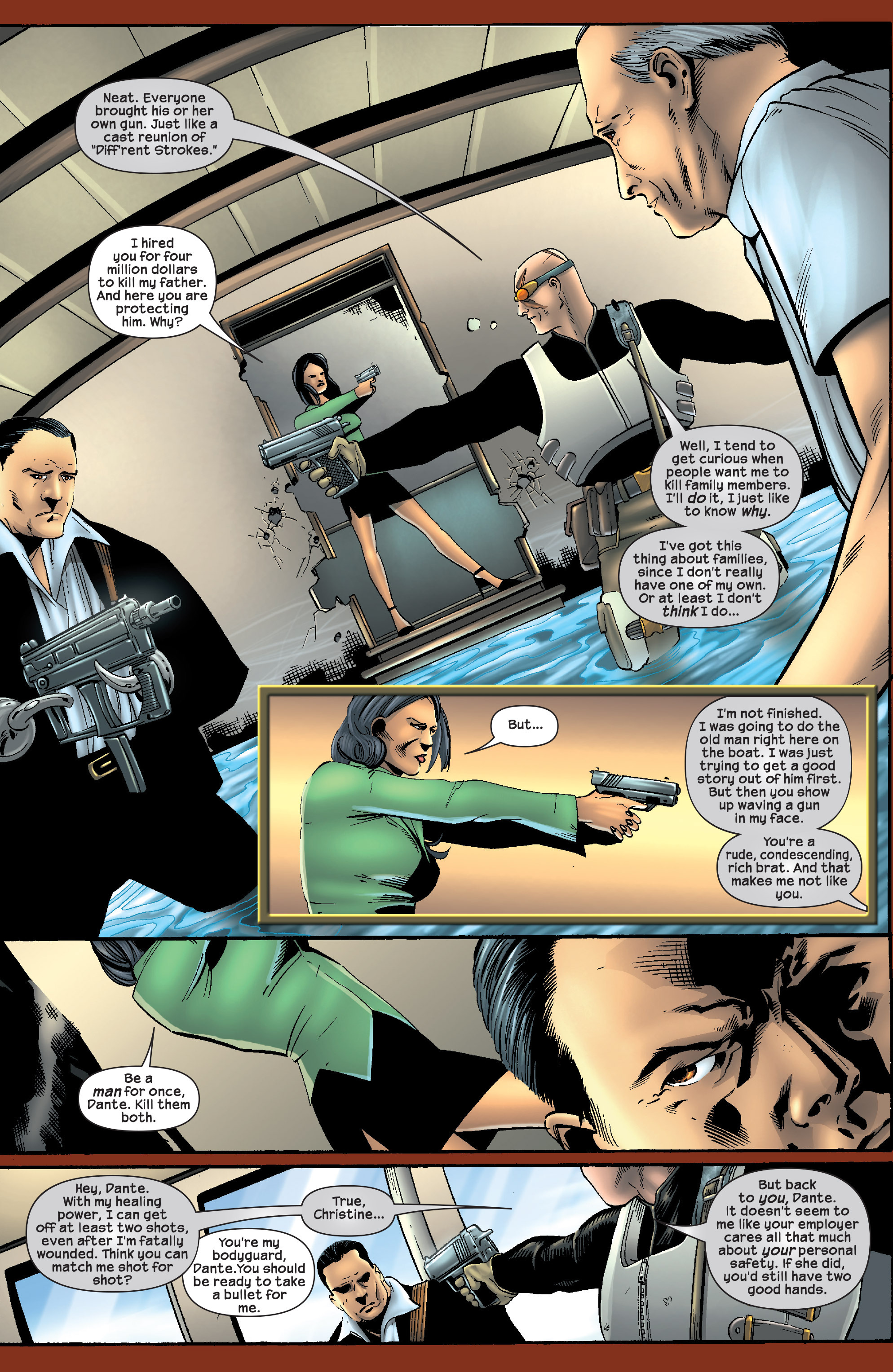 Read online Agent X comic -  Issue #9 - 19
