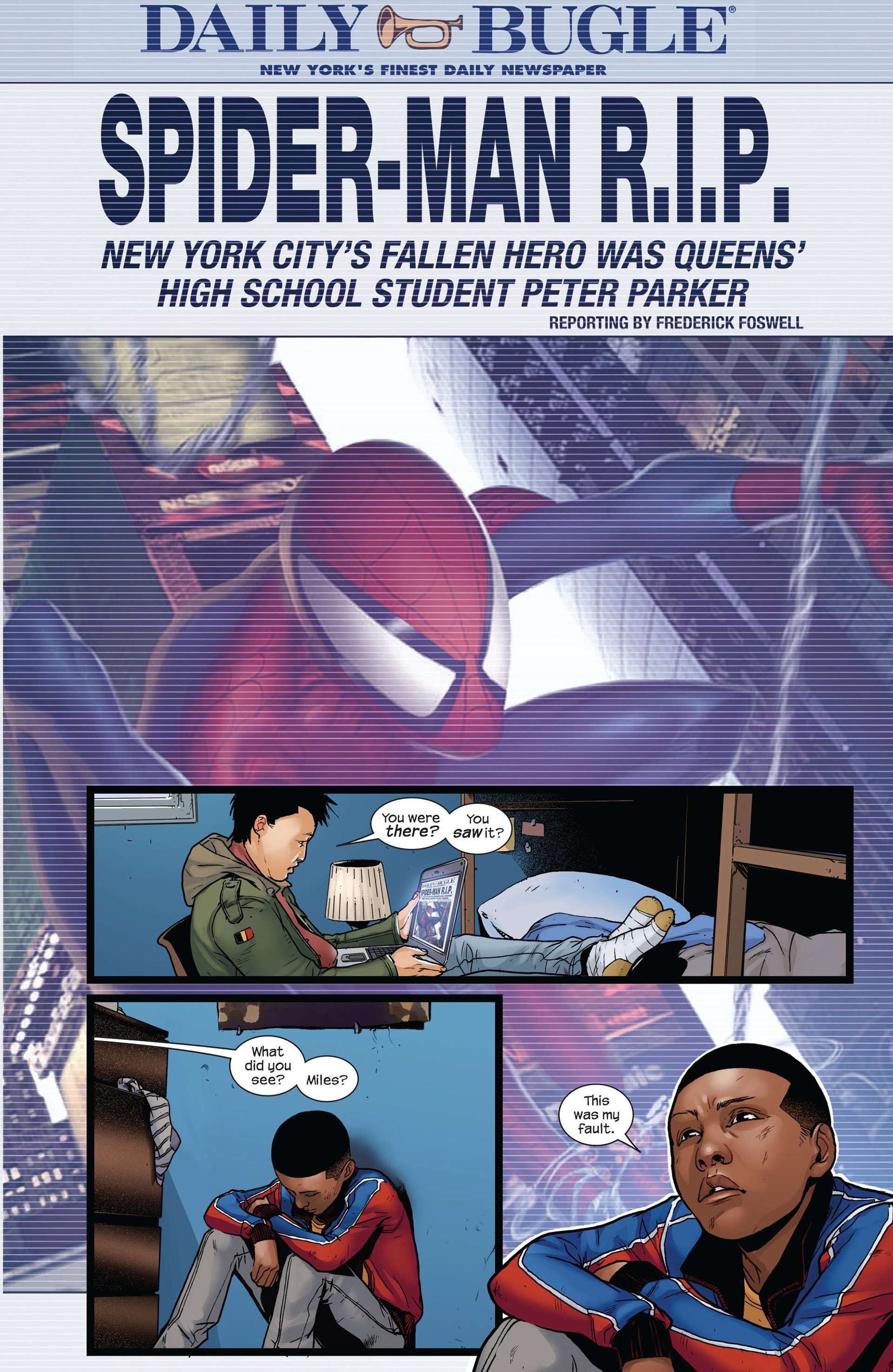 Read online Ultimate Comics Spider-Man (2011) comic -  Issue #4 - 9