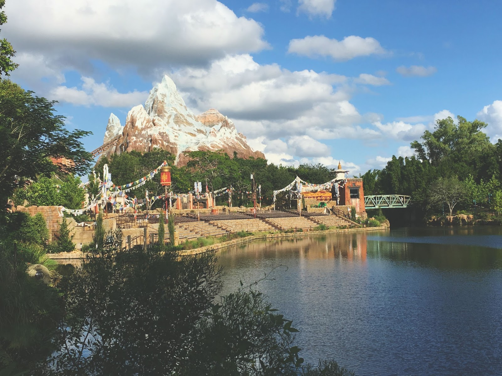 Expedition Everest at Animal Kingdom in Disney World, Florida