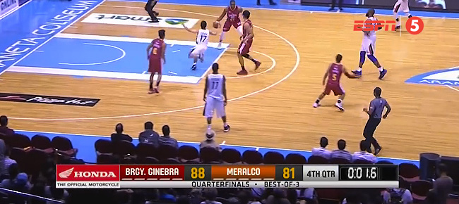 Ginebra def. Meralco, 88-81 (REPLAY VIDEO) July 9 / QF Game 1