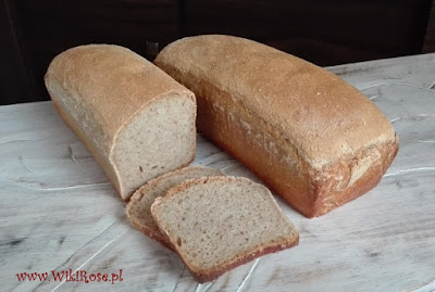 chleb orkiszowy wikirose