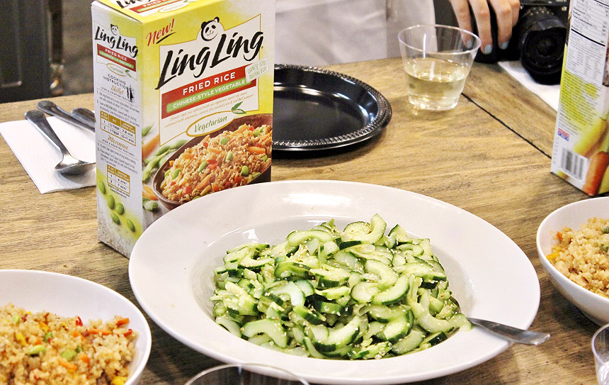 Grab new #LingLingFriedRice varieties, inspired by Korean, Thia, Chinese, and Japanese flavors, in your grocer's freezer. The inique Ling Ling infusion cooking process ensures every grain of rice is hit with seasoning and flavor for a delicious dining experience that takes less thsn 10 minutes on your stove! #IC #AD