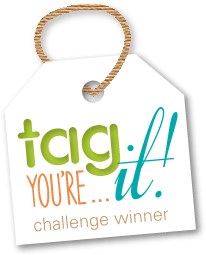 Soy ganadora del reto #63 de Tag You're It Challenge!