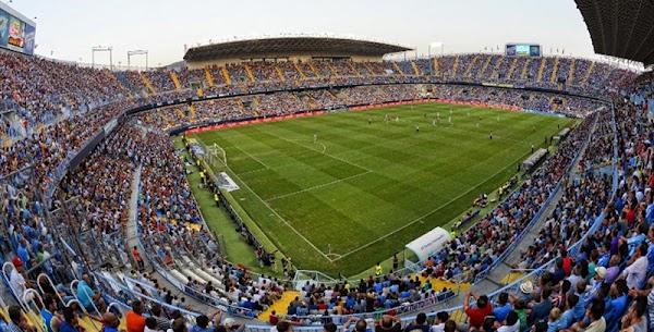 Málaga, vendidas 7.000 entradas para el partido ante el Mallorca