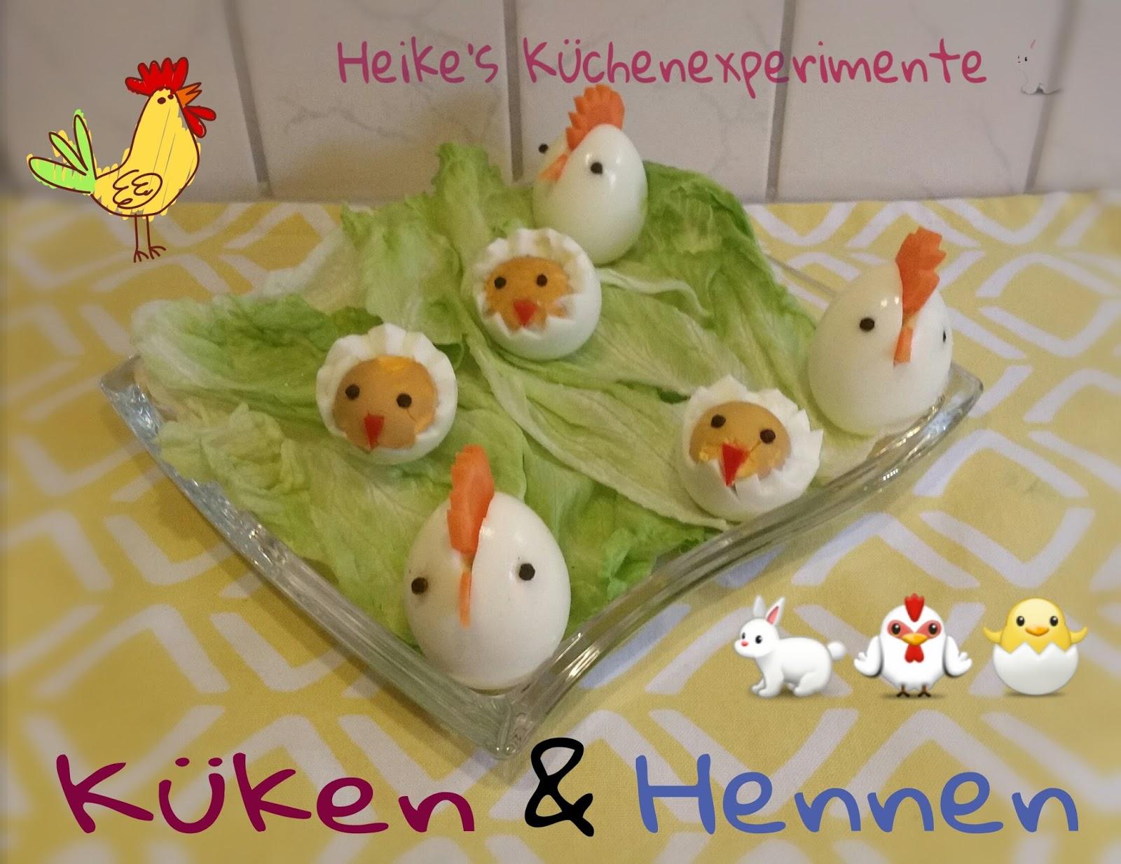 Heike's Küchenexperimente ☆☆☆: Hennen Und Küken Für Das