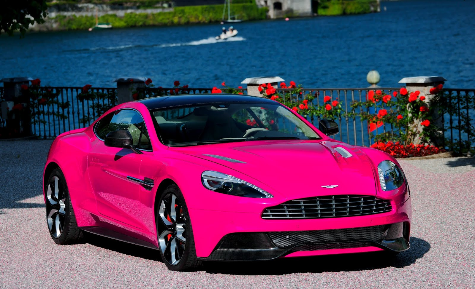 china garage we just love cars pink aston martin vanquish. Black Bedroom Furniture Sets. Home Design Ideas