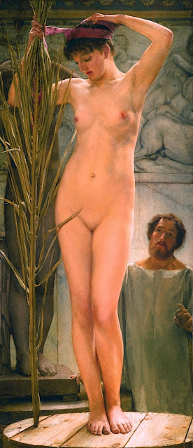 Lawrence Alma-Tadema - La modella dello scultore - sex art