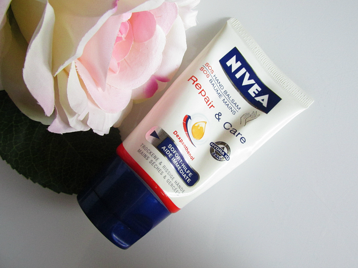 NIVEA Repair & Care SOS Hand Balsam - 50ml - ca. 5.- Euro - trockene Hände Winter, Review