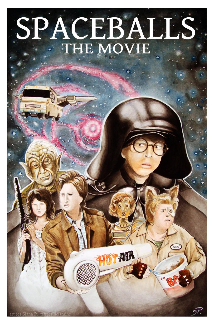 Cine Y Lo Que Surja Spaceballs La Loca Historia De Las Galaxias