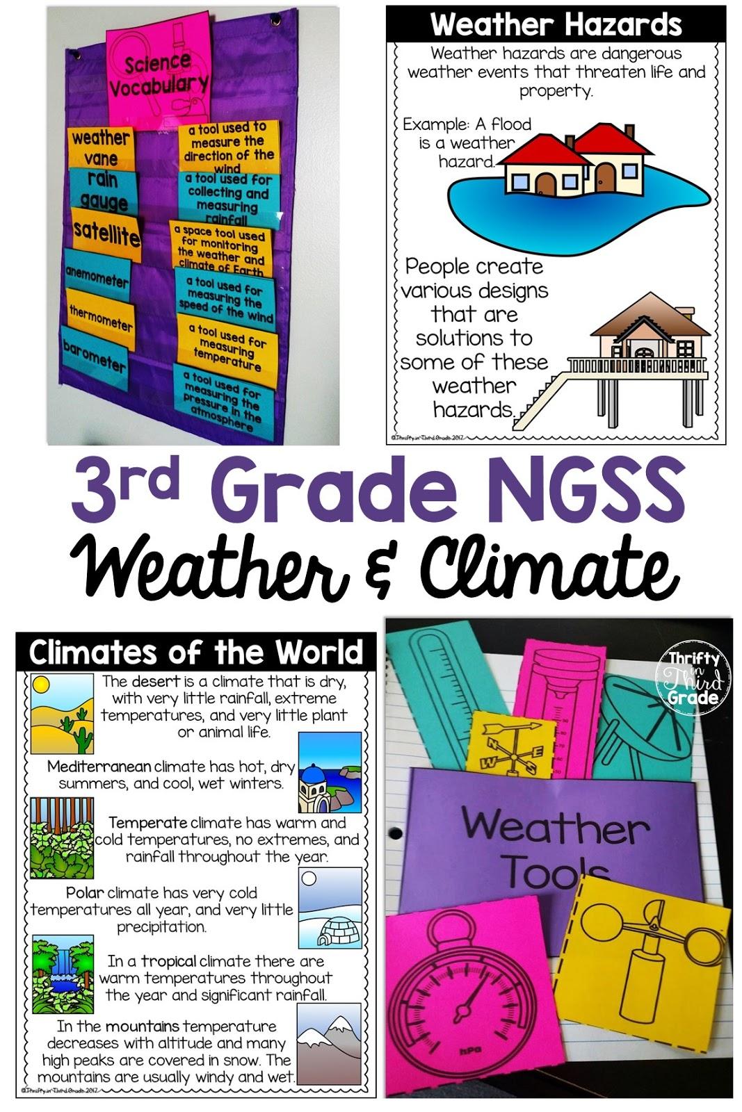 3rd Grade Weather Amp Climate Ngss