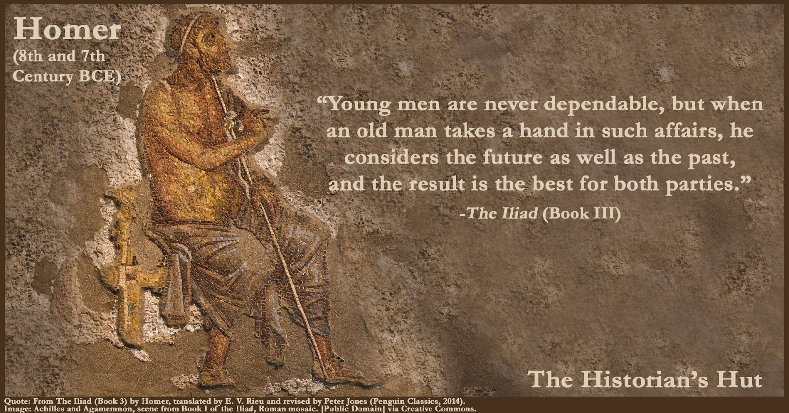 the historian s hut quote pictures homer