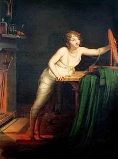 Premier Sentiment de Coquetterie (1804), Pauline Auzou