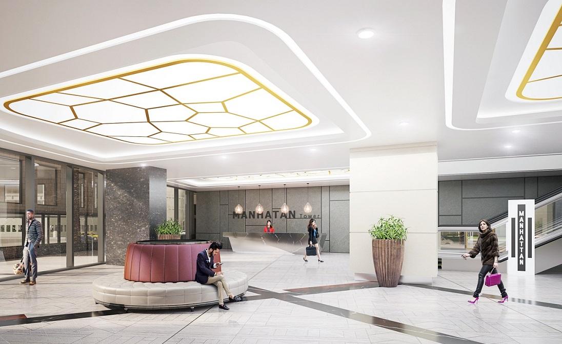 Tiện ích trung tâm thương mại của dự án Manhattan Tower
