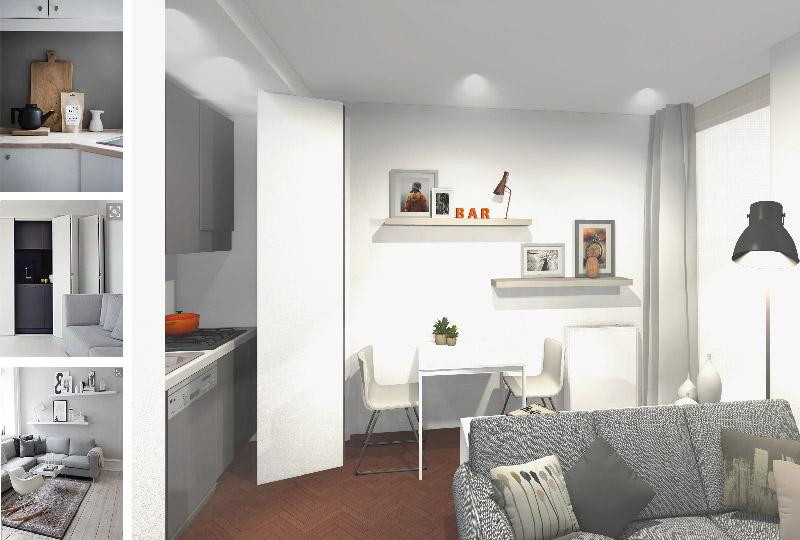 Consigli su come arredare in stile moderno e accogliente for Arredare piccoli appartamenti