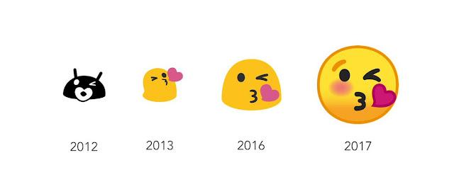 Keren, Ini Tampilan Emoji Terbaru Android O