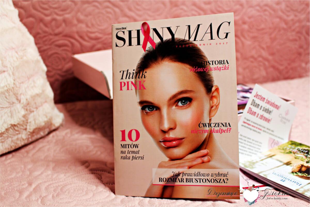 ShinyBox Październik 2017 Think Pink Zawartość Opinie