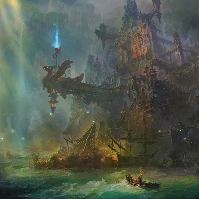 Hidden City Wallpaper Engine