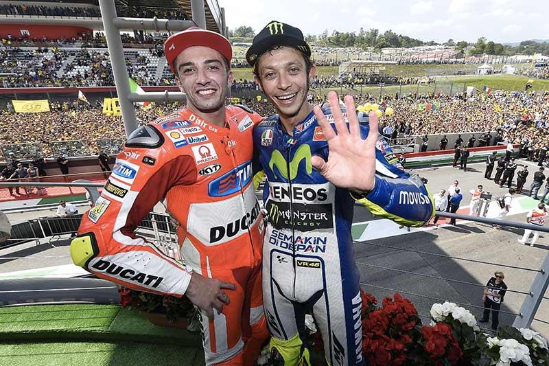 Sinyal Kuat Ianone Akan Suport Rossi di GP Valencia 2015