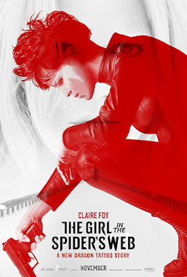 Poster The Girl in the Spider's Web 2018 Dual Audio HD 720p