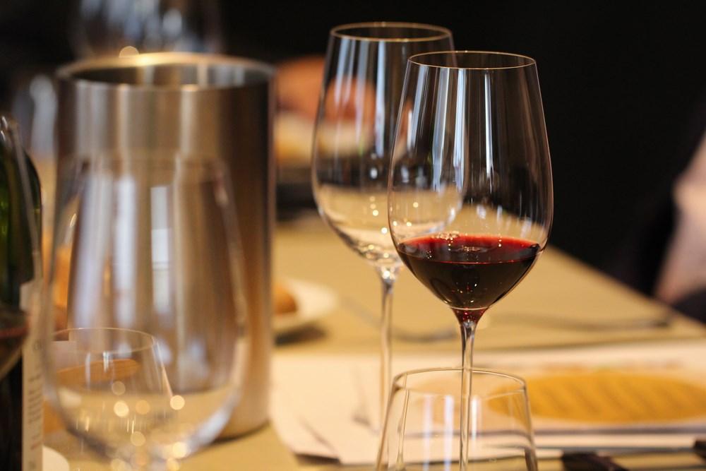 Les Vins Château de Chantegrive au restaurant l'Archeste