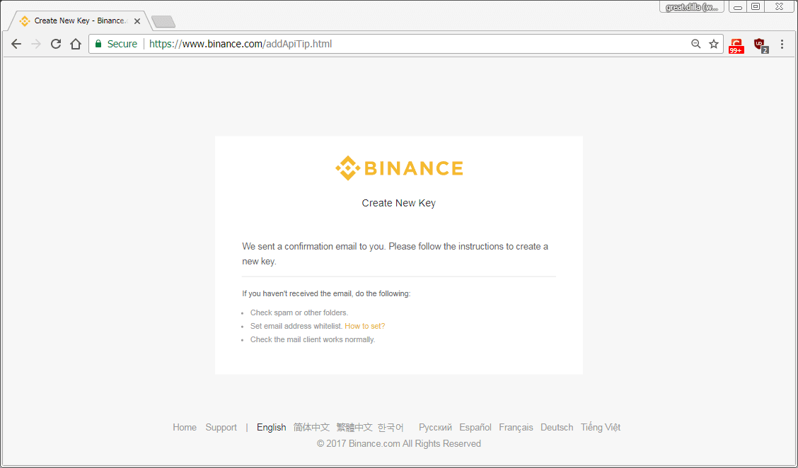 HOW-TO: Generate Binance API Keys for Trading Bot ~ pimp-my-rig reloaded