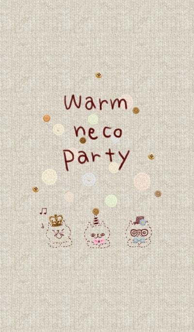 Warm cat party