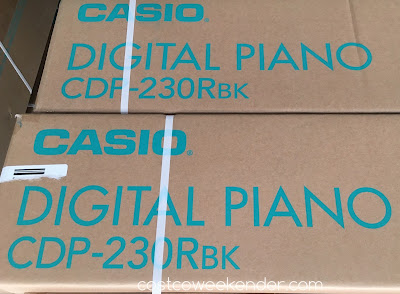 Costco 1088185 - Casio CDP-230 Ensemble Digital Piano - cheaper and more practical than a real piano