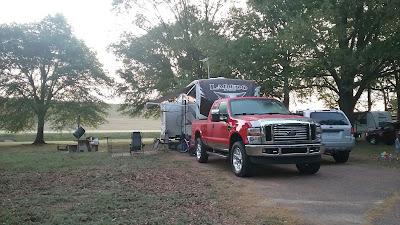 Site 21 Oak Grove campground
