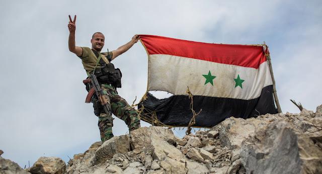 Militares sírios agradecem a Rússia pelo apoio