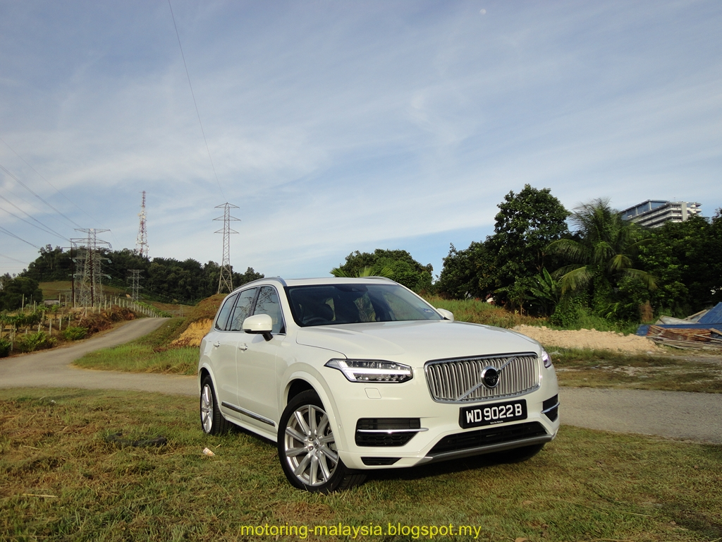 motoring malaysia test drive volvo xc90 t8 all hail. Black Bedroom Furniture Sets. Home Design Ideas