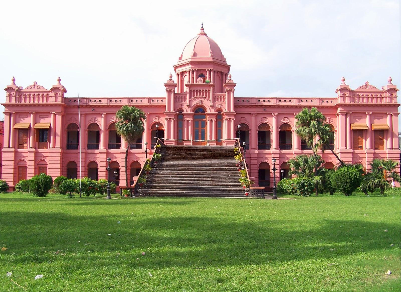 Ahsan Manzil, Dhaka, Bangladesh : An Attractive Historical