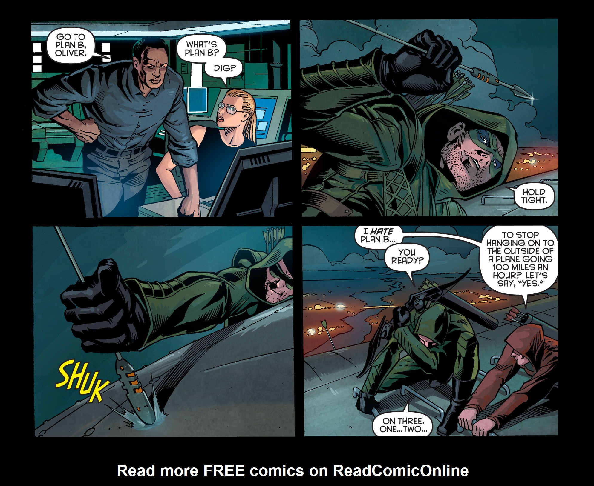 Read online Arrow: Season 2.5 [I] comic -  Issue #1 - 11